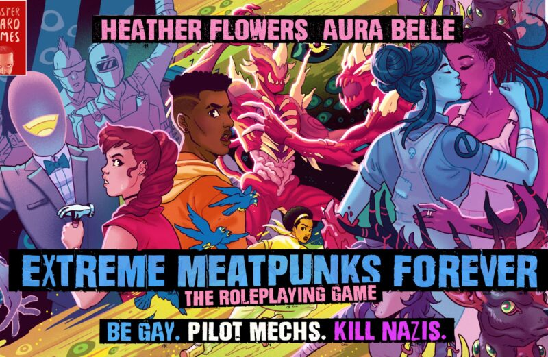 Extreme Meatpunks Forever Quickstart is here!