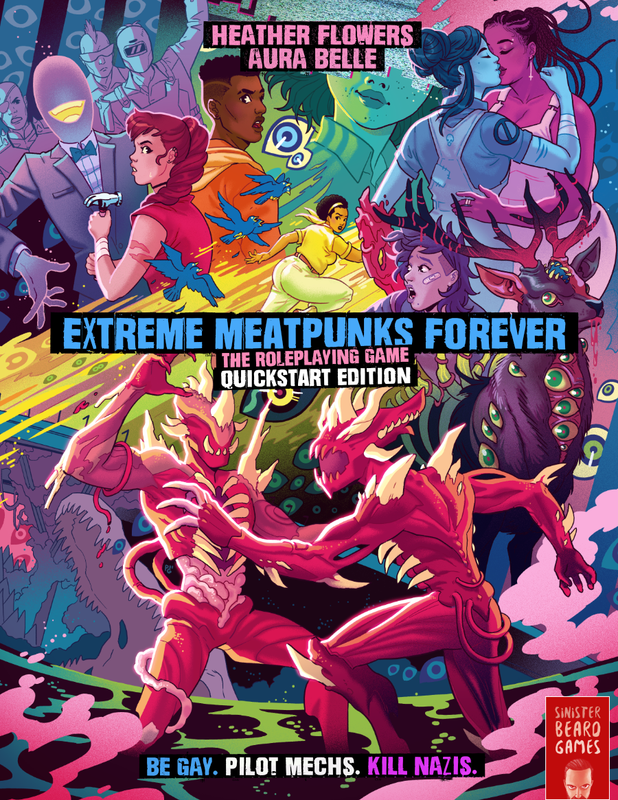 Extreme Meatpunks Forever: The Roleplaying Game – Quickstart Edition